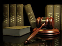 picture of law books and gavel